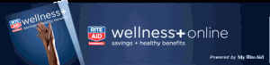 Riteaid Wellness card logo