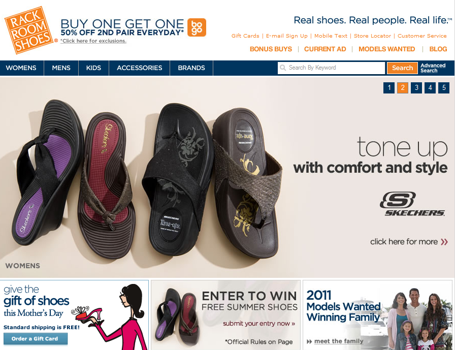 Rack room shoes 10 off coupon