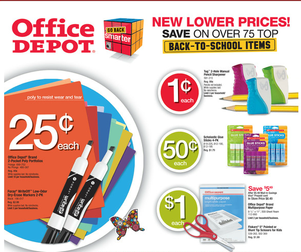 Back To School Sales coupons, promo codes and discounts at Best Buy, Office Depot and Office Max, Target and more.