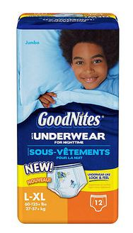 GoodNites Underwear