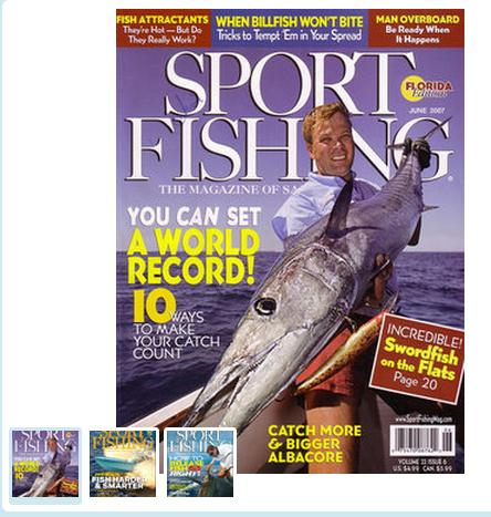 Sport fishing magazine subscription family finds fun for Fishing magazine subscription