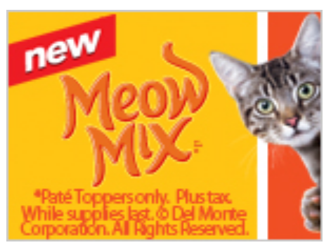 Meow Mix FREE Sample Cat Food Coupon | Family Finds Fun