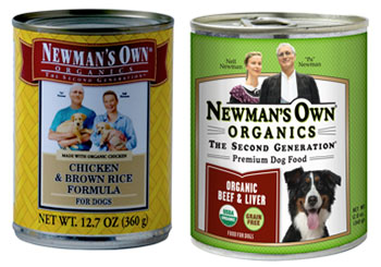 Newman S Own Organic Dog Food Ingredients