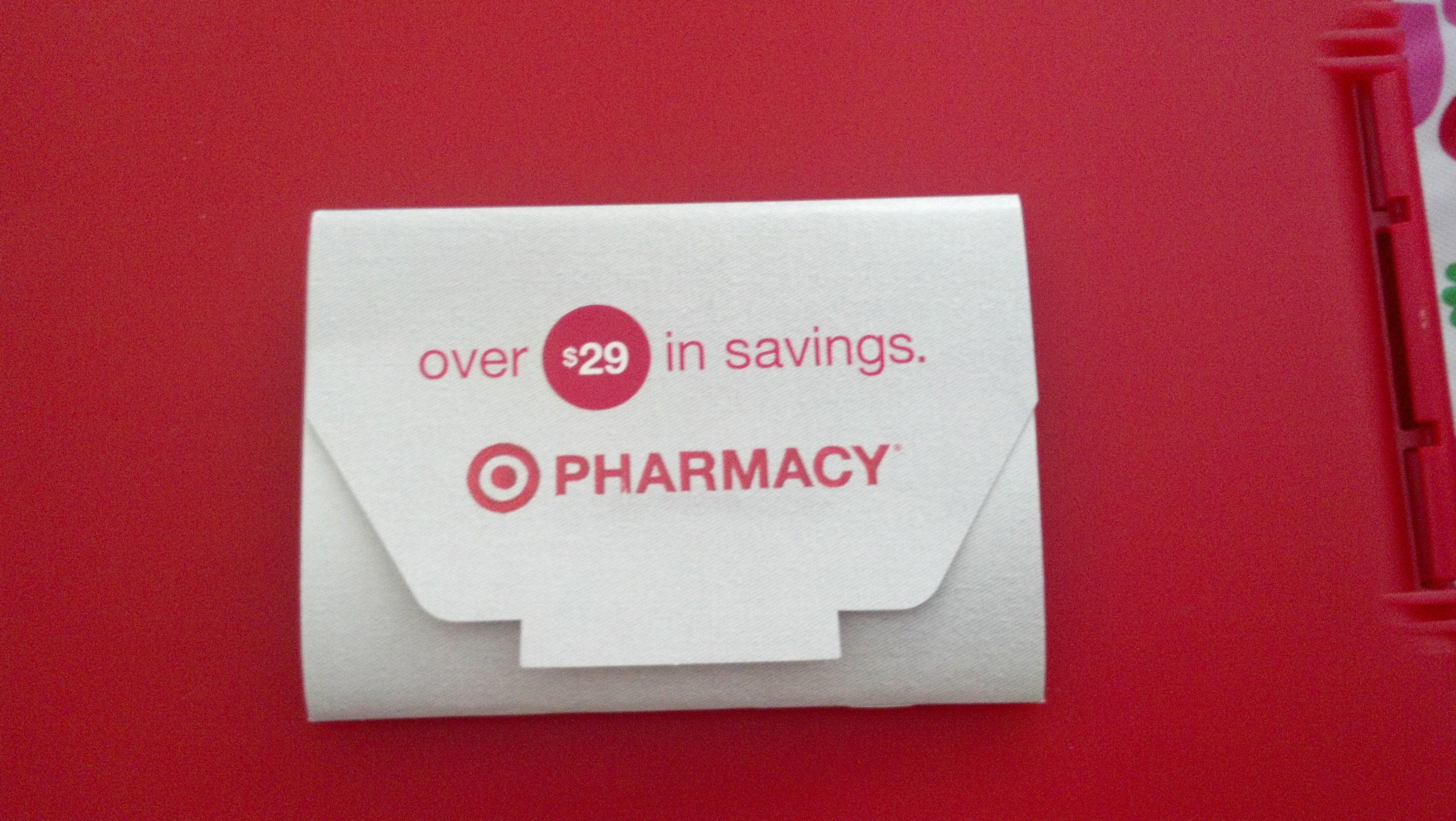 Target pharmacy discount coupons