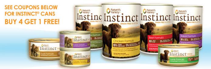 Natures Variety Pet Food Coupon