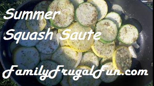 Summer Squash saute Summer Squash Pie Recipe