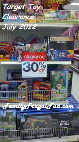 Target toy clearance July 2012 Target Clearance: Target Clearance Schedule & Target Clearance Deals
