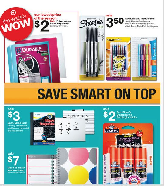 Target Back To School Deals: Target Bargains & Target Coupon
