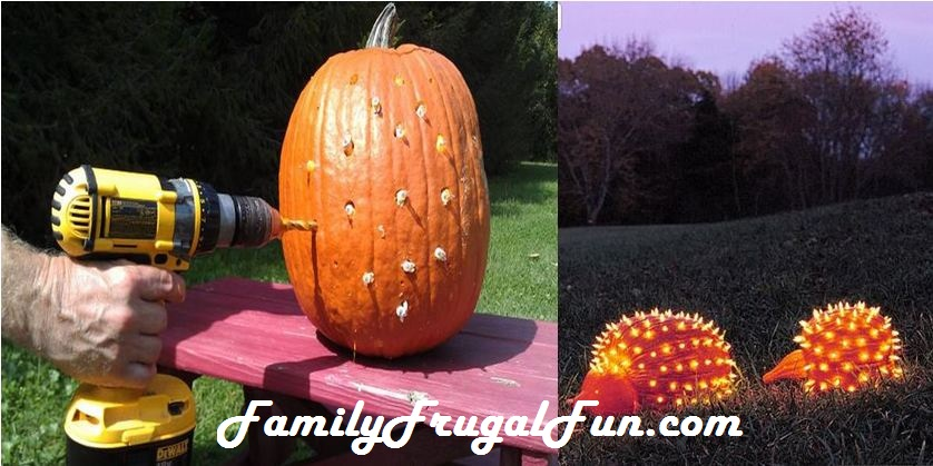 Pumpkin creatures pumpkin decorating ideas for halloween for Fall pumpkin decorating ideas