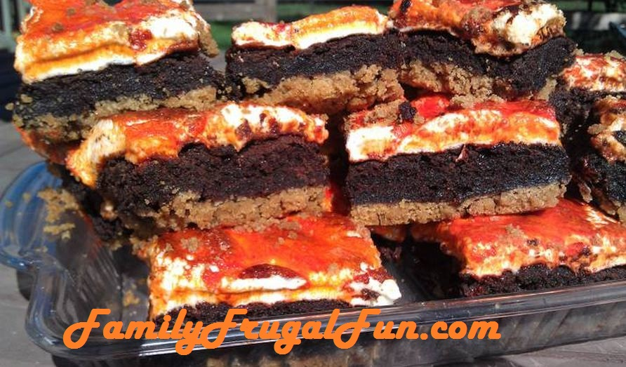 if - Halloween Brownie Recipe