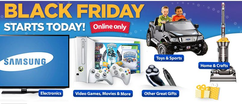 Walmart black friday deals available online now