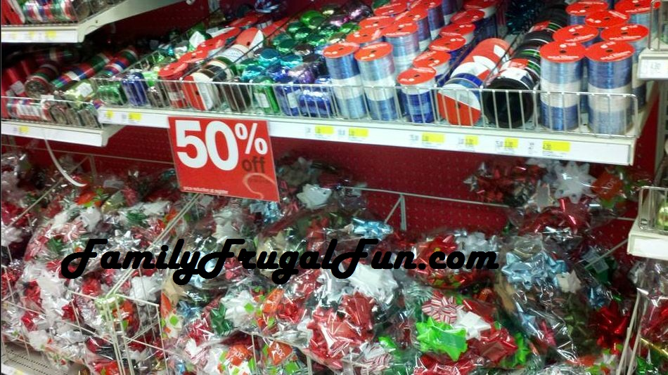 Target After Christmas Clearance on Bows, Ribbons, Gift Wrap ...