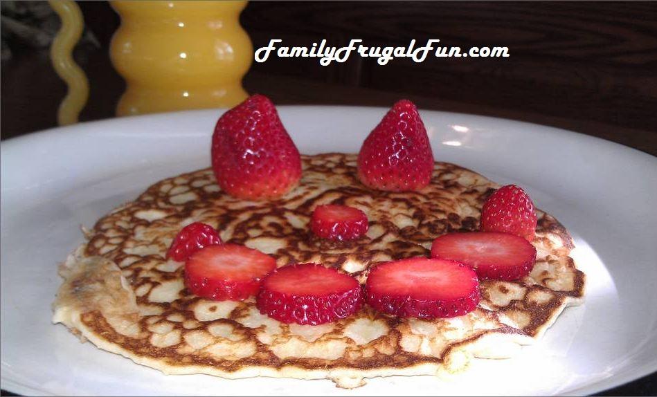 how to make strawberry bannana pancakes essay