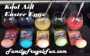 Kool Aid Dyed Easter Egg Recipe DIY KOOL Aid Easter Eggs
