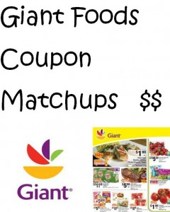 Giant Foods Coupon Matchups
