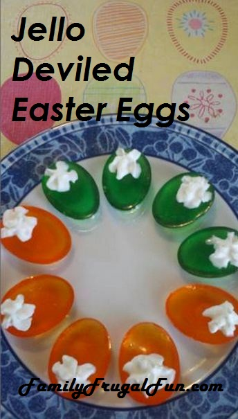 Jello Easter Eggs Jello Deviled Eggs