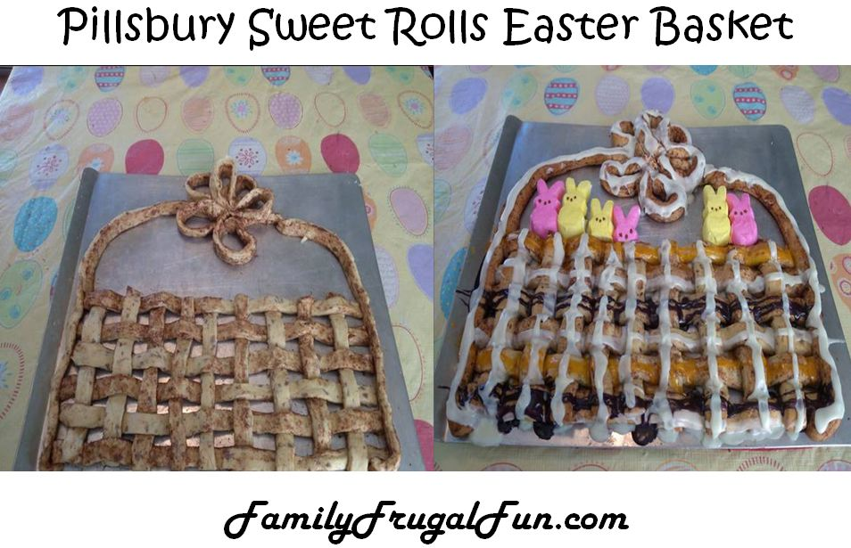 Pillsbury Sweet Rolls Easter Basket Recipe
