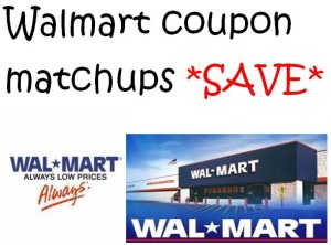 Walmart Coupon Matchups