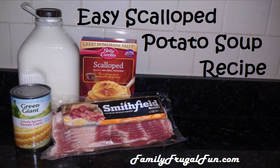Easy Scallop Potato Soup Recipe
