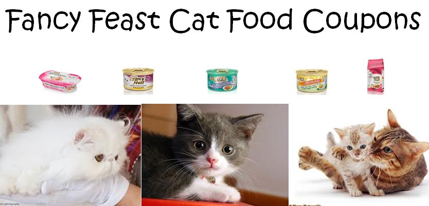 Fancy Feast Cat Food Coupons