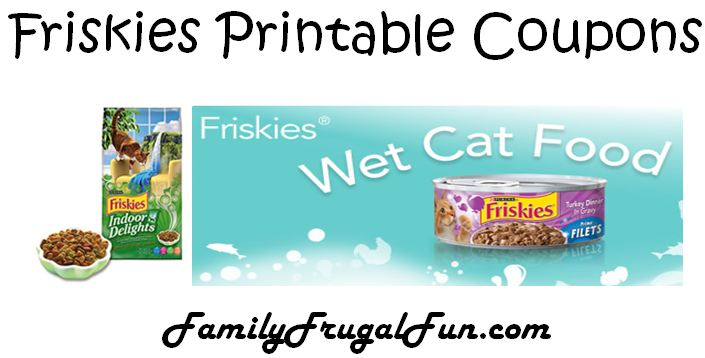 Coupons On Friskies Cat Food