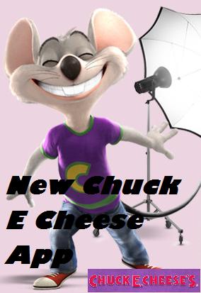 Chuck E Cheese App