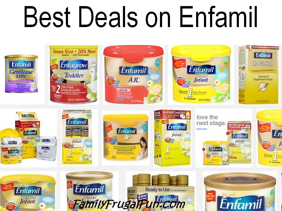 enfamil coupons and bargains