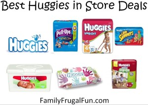 FREE Huggies printable coupons Best Huggies in Store Deals