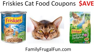 Friskeies Cat Food Coupons