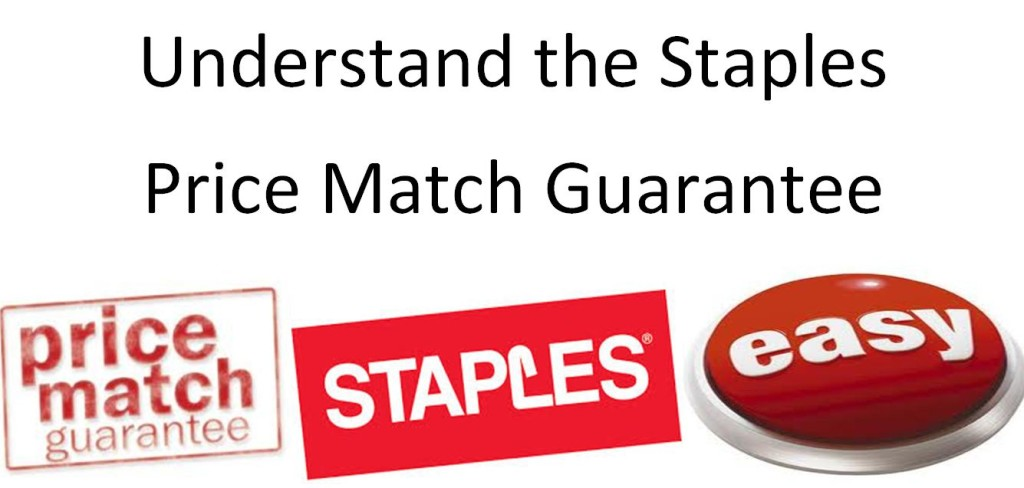 How to Understand the Staples Price Match Guarantee