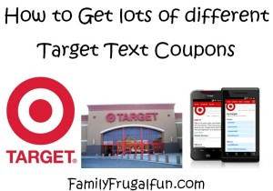 How to get Target Text Coupons