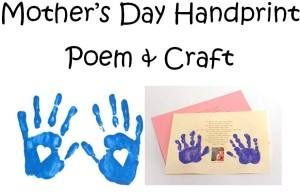 Short Mother's Day Poems & Craft