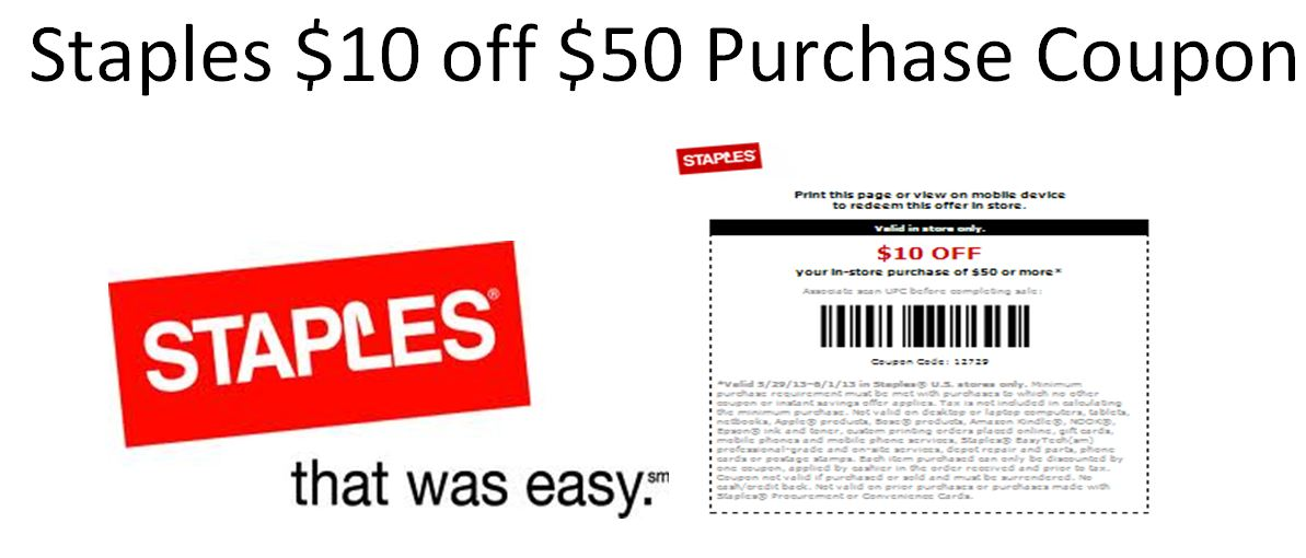 Staples coupons 20 off online