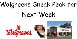 Walgreens Preview of Next Weeks Ad