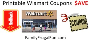printable Walmart Coupons Walmart printable coupons