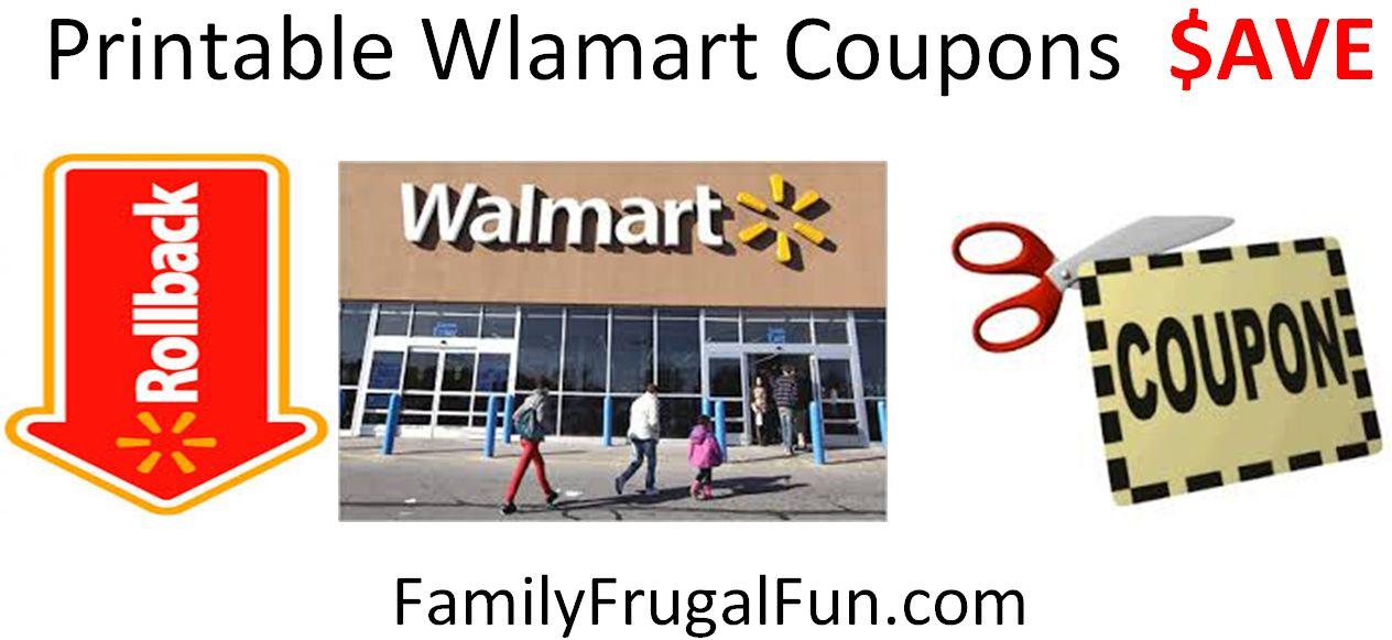 Walmart in store tv coupons
