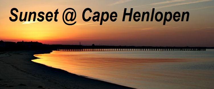 Cape Henlopen State Park Sunset