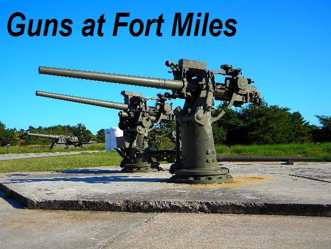 Fort Miles guns