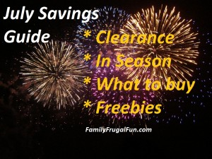July Savings Guide