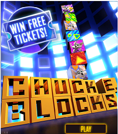 FREE Chuck E Cheeses Tickets