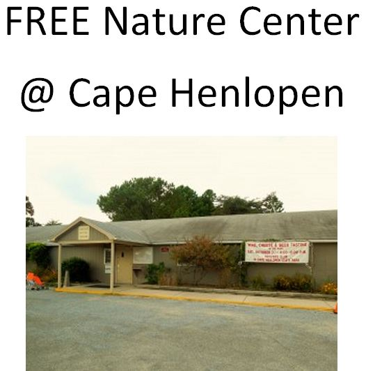 free Nature Center at Cape Henlopen State Park