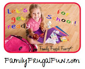 Back to School Check list for pre-K to 2nd graders