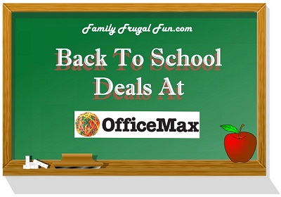 Office Max Back To School