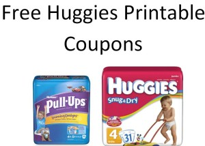 Free Printable Huggies Coupons