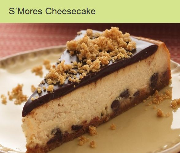 S'mores Cheese Cake Recipe