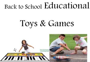Back to School Educational Toys and Games