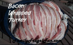 Bacon Wrapped Turkey for Easter dinner recipe