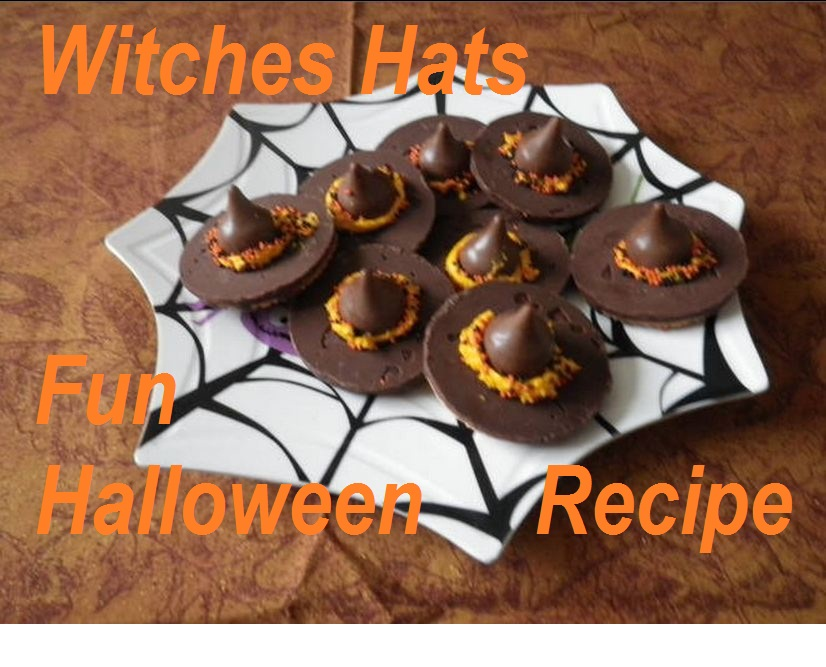 Easy Halloween Recipes Witches Hats