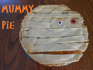 Halloween Dessert Recipes Halloween Mummy Pie