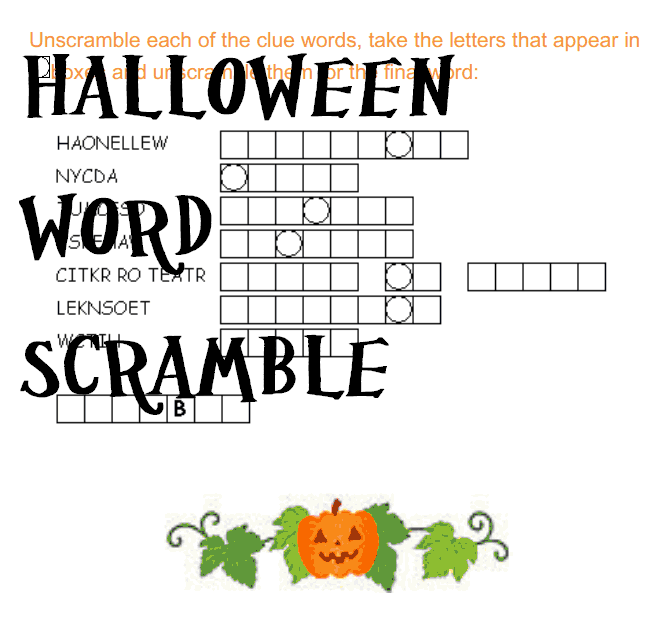 Educational Halloween Worksheets Family Finds Fun